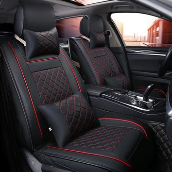 Car Seat Covers Universal PU Leather