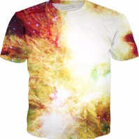 Exploding With Energy Rolling Through Space [NGC-2264] | Universe Galaxy Nebula Star Clothes | Rave & Festival Shirt
