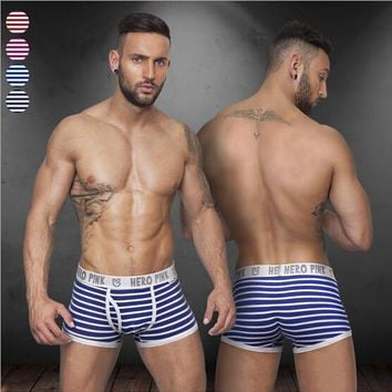 Men's Breathable Elastic Boxer Shorts 2 Colors