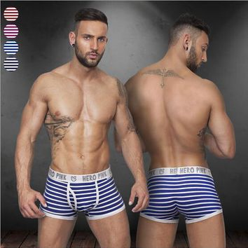 Men's Breathable Elastic Boxer Shorts