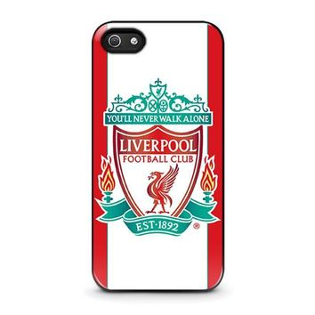 liverpool fc iphone 5 5s se case cover  number 1