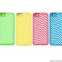 Chevron iPhone 5C Case / iPhone 5C Case Match Your 5C Case Pink iPhone 5C Blue iPhone 5C Green iPhone 5C Yellow iPhone 5C iPhone 5C Cover
