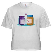 Peanut Butter and Jelly Shirt on CafePress.com