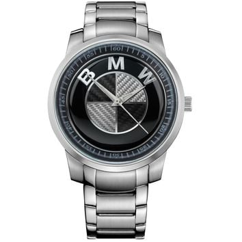 BMW LOGO SILVER Metal Watch