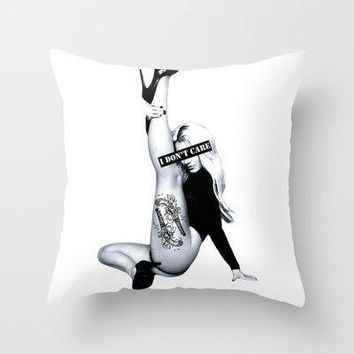 I Don't Care Britney Spears Throw Pillow By Lovejonny | Society6