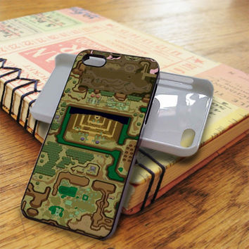 Zelda A Link To The Past Dark World Map iPhone 5C Case