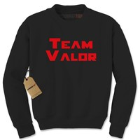 Team Valor - Represent Your GO Faction Adult Crewneck Sweatshirt