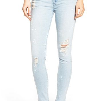 Hudson Nico Ankle Skinny Jeans (Reflector) (Nordstrom Exclusive) | Nordstrom