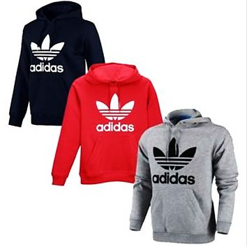 """Adidas"" men and women's stylish pullover sweatshirt and sweatshirt"