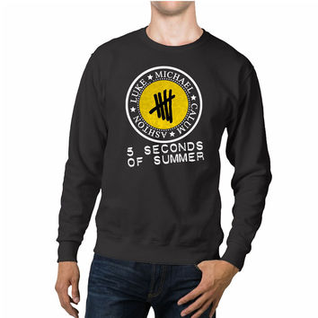 5 Seconds Of Summer Names In Logo Unisex Sweaters - 54R Sweater