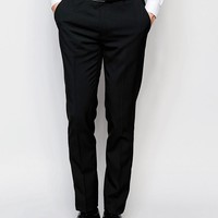ASOS Skinny Suit Jacket with Stretch in Black