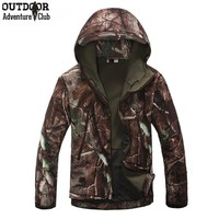 Lurker Shark Skin Soft Shell V4 Outdoors Military Tactical Jacket Men Waterproof Windproof Coat Hunter Camouflage Army Clothing