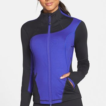 Women's Zella 'Into It' Colorblock Jacket,