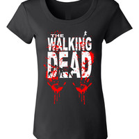THE WALKING DEAD Baby Doll Tee# 414