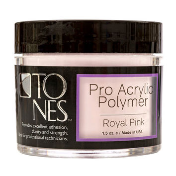 Pro Acrylic Powder: Royal Pink | Polvo de Acrílico Professional: Royal Pink