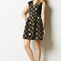 Gold Rush Jacquard Dress
