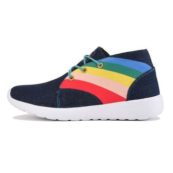DCCKLP2 Y.R.U. for Women: Beem Hi Denim Sneaker