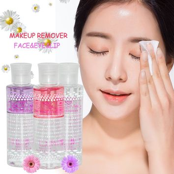 New Makeup Remover Skincare Gentle Oil-Free Eye& Lip& Face Deep Cleansing Moisturizing Make-up Remover