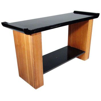 Pre-owned Paul Frankl Console Table for Johnson Furniture