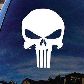 Punisher Skull logo Decal Sticker Vinyl Decorative for Wall Car Ipad Macbook Laptop