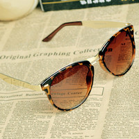 Women's Cat Eye OverSized Round Sunglasses k01