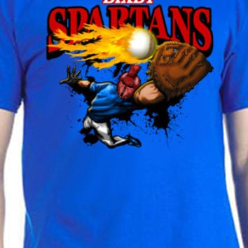 Bixby Spartans Baseball T-Shirt
