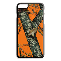 Orange Camo iPhone 4S 5S 5C 6/6S Plus Case Hunting Custom Cover