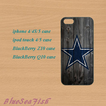 iphone 4 case,iphone 5 case,ipod touch 4 case,ipod touch 5 case,Blackberry z10 case,Blackberry q10--Dallas Cowboys,in plastic and silicone