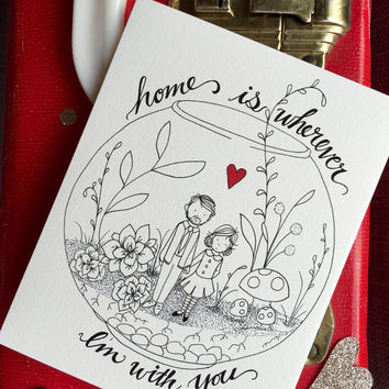 Home Is Wherever You Are Card