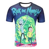 Trendy Rick and Morty Shirt