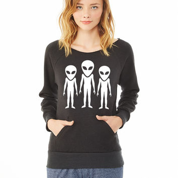 Alien_ ladies sweatshirt