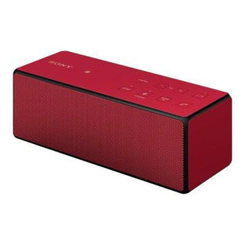 Ultra Portable Bluetooth Speaker Red