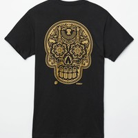 Obey Power And Glory Skull T-Shirt - Mens Tee