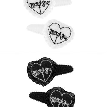 【MORPH8NE】 HAIR CLIPS - PRESSING WEB SHOP