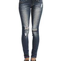 Wanna Betta Butt Destroyed Skinny Jeans | Wet Seal