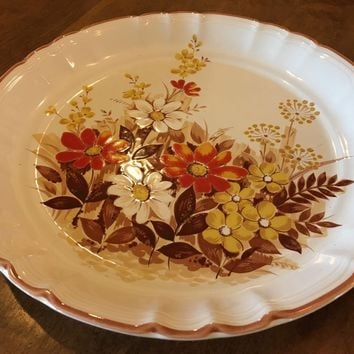 Vintage Country Life Styled Mikasa KE101 Autumn Dinner Replacement DINNER Plate