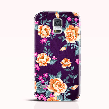 Floral iPhone 6 Case iPhone 5C 5 4 Case Cute Samsung s5 S4 mini Note 4 Gift Rose Flower [36B]