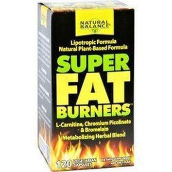 Natural Balance Super Fat Burners  120 Vegetarian Capsules