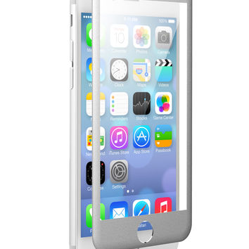 NEW! The Silver-Metal Beveled Apple iPhone 6/6s zNitro FUZION Glass Screen Protector