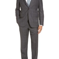 Ted Baker London 'Jay' Trim Fit Plaid Wool Suit | Nordstrom