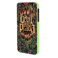 Devil Wears Prada Band Cover Album Plagues iPhone 5 Case Framed Green