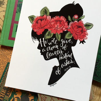 Crown of Beauty Art Print