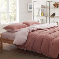 On Sale Hot Deal Bedroom Cotton Simple Design Knit Bedding Bedding Set [6451762566]