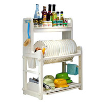 Above Edge Dish Holder & Spice Rack