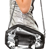*MKL Accessories Tha Bag O Bones Coffin Bag : Karmaloop.com - Global Concrete Culture