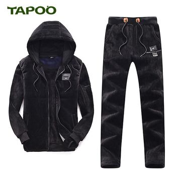 TAPOO Men's Casual Suit Winter Outwear Tracksuit TP7304007