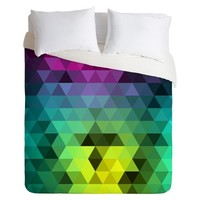 DENY Designs Under Water Lion Microfiber Duvet Cover
