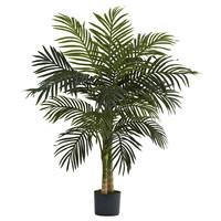 Nearly Natural Golden Cane Palm Tree in Pot