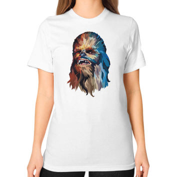 Polygon Chewy Unisex T-Shirt (on woman)