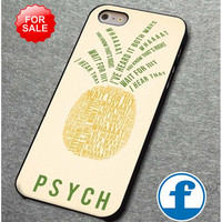 psych pinapple quotes  for iphone, ipod, samsung galaxy, HTC and Nexus PHONE CASE
